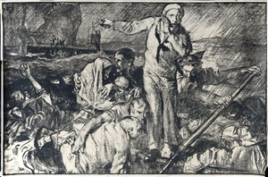united states appeal, humanity calls 1914-1918 by sir frank brangwyn