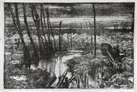 desolation on the front by sir frank brangwyn
