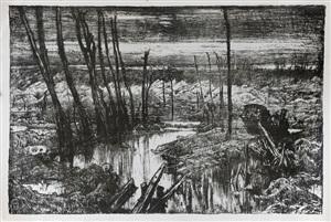 desolation on the front by sir frank brangwyn