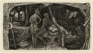 the chamber idyll by edward calvert