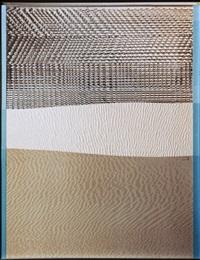 station 4, die sandreliefs (sahara-zyklus) by heinz mack
