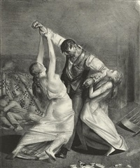 the drunk, no. 2 by george wesley bellows
