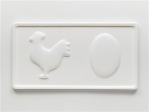 chicken/egg by marc ganzglass