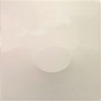 un ovale bianco by turi simeti