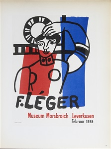 rare postersdumbo auction french posters 1950 - today by fernand léger