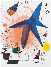 lot 307: litografia original i by joan miró