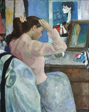 la jeune femme et picasso by françois gall
