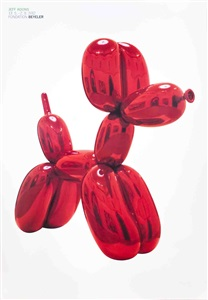 pop art auction 1960 to date by jeff koons