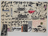 untitled (please send to may) by ray johnson