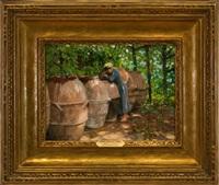 olive barrels by henry bayley snell