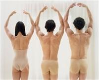 trois danseurs, les couronnes by elina brotherus