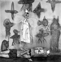suspended by roger ballen