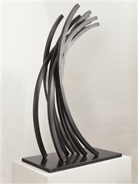 97.5° arc x 9 by bernar venet