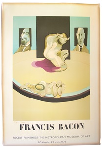 rare postersdumbo auction french posters 1950 - today by francis bacon