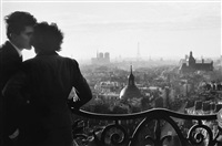 les amoureux de la bastille by willy ronis
