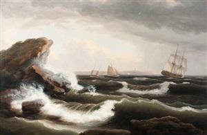 off the maine coast by thomas birch
