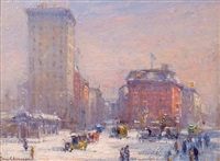 the circle, new york city by guy carleton wiggins