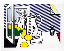 still life with windmill by roy lichtenstein