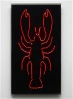 still life with lobster by gavin turk