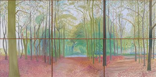 woldgate woods 7 8 november 2006 by david hockney