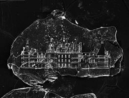 sandcastle #1 (château de chambord) by vik muniz