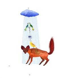 untitled (animals and rain) by balint zsako