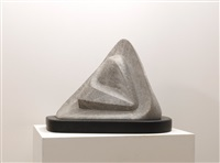 white stone by naum gabo