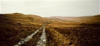 fullmoon towards barnhill by darren almond