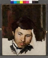 self-portrait by valentin aleksandrovich serov