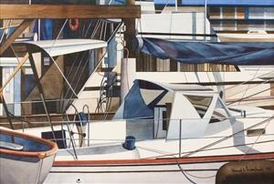 charleston marina by edmund lewandowski