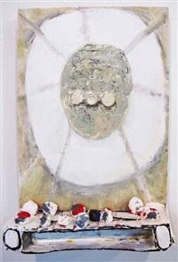 white preserver by katherine bradford