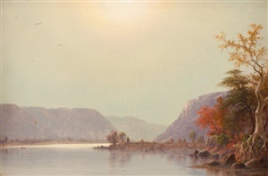 morning on the ohio river by joseph rusling meeker