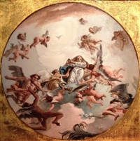 the immaculate conception by giovanni domenico tiepolo