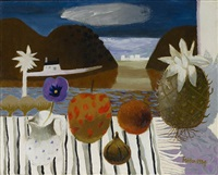 still life with pineapple by mary fedden
