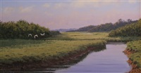 through the winding marsh (sold) by sergio roffo