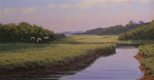 the winding marsh by sergio roffo