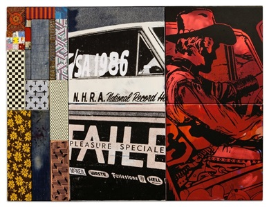 faile - works on wood process, painting, and sculpture by faile
