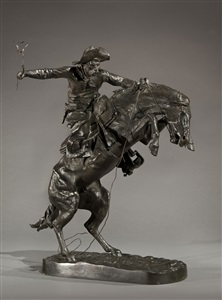 american and european sculpture, 19th and 20th century by frederic remington