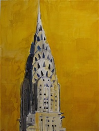 chrysler building by enoc perez
