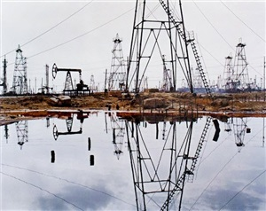 socar oil fields #3 by edward burtynsky