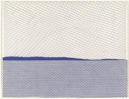 seascape (1) by roy lichtenstein