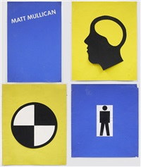 untitled (poster design: early language) by matt mullican