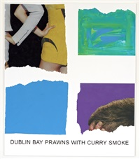 morsels and snippets: dublin bay prawns with curry smoke by john baldessari