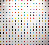 pyrantel pamoate by damien hirst