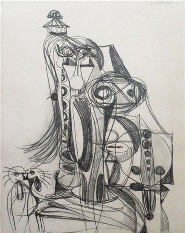 cardinal construction by george condo