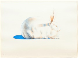 rabbit by wayne thiebaud