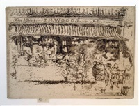 j.h. woods' fruit shop, chelsea by james abbott mcneill whistler