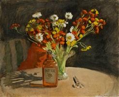 flowers by fairfield porter