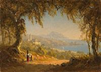 la riviera di ponente by sanford robinson gifford