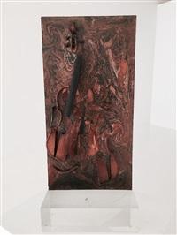 untitled (violin) by arman
